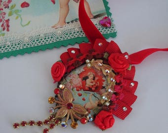 Valentine Day Valentine's day Locket necklace