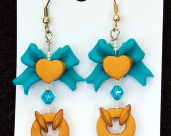 Sailor Mercury Earrings