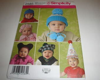 New Simplicity # 2585 For Baby and Toddlers           Item 2585
