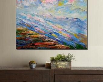 Large Art, Original Art, Abstract Art, Landscape Painting, Canvas Art, Canvas Painting, Wall Art, Large Art, Wall Art, Abstract Painting