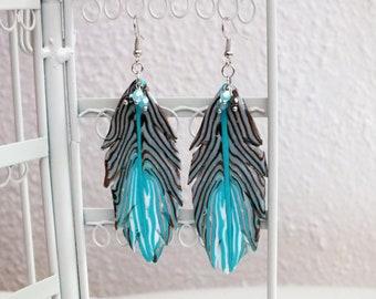 Earrings Egyptian jewelry, created by Marieflorecrea.styl5,