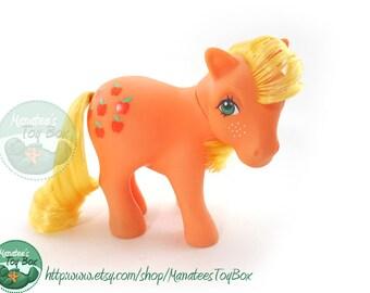Vintage My Little Pony Applejack 1980s Toy by Hasbro