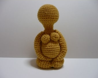 Crochet Amigurumi Pattern Doll Pattern PDF Instant Download Pregnant Woman Form