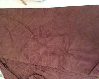 Fabric faux leather Brown very nice 140 width