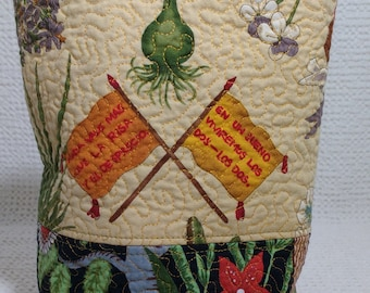 Nothing is Worth More Than Laughter and Contempt Sock Knitting Bag