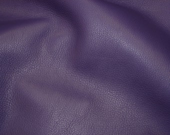 "Leather 8""x10"" KING Purple Rich full grain SOFT Cowhide 3-3.5 oz / 1.2-1.4 mm PeggySueAlso™ E2881-14 Full hides available"