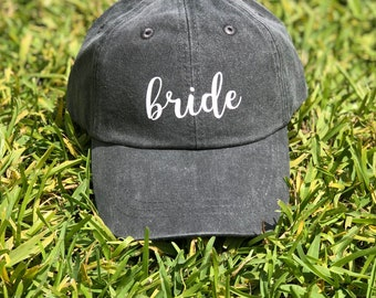 Bride Baseball Hat | Bride Hat | Dad Hat for Women | Wedding Hat | Mom Hat | Women's Hat | Classic Dad Hat | Summer Hat | Women's Cap