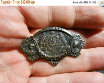 Spring Sale Vintage GAR Post Civil War Delegate Medal 31st National Encampment