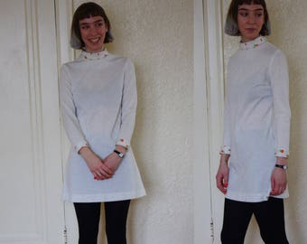 1960s dress // vintage 60s // gogo dress // mod dress