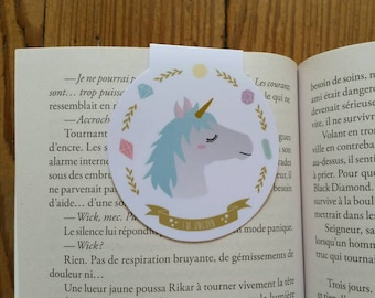 I'm Unicorns / / 1 magnetic bookmark