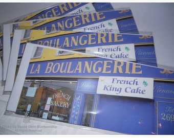 French Bakery Notecards