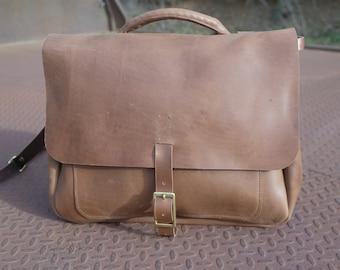 Horween Leather Satchel