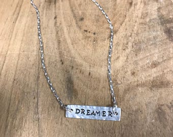 Dreamer Bar Necklace