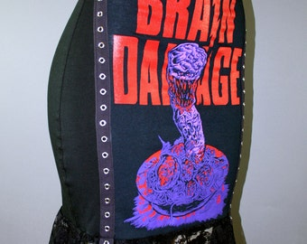 Brain Damage Horror Movie Pencil Skirt