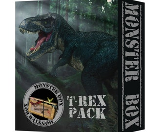Monster Box ~  T-Rex Overlay Collection