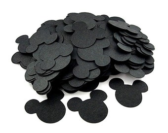 Mickey Confetti - Mickey Mouse Party - Mickey Decor - Confetti - Mickey Birthday - Mickey Party - Mickey Table Decor - Mickey Heads