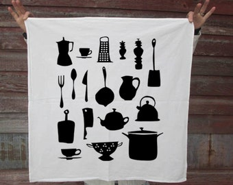 Kitchen Utensils Flour Sack Tea Towel