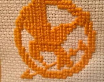 Mockingjay Cross Stitch
