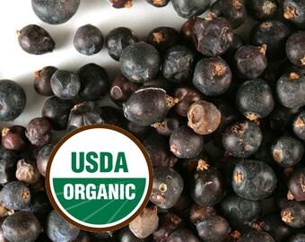 Juniper Berries 4 oz. organic, dried