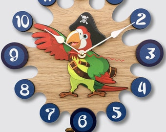 Pendulum Wall Clock Pirate