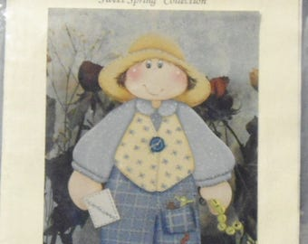 """1995 Tole Painting Pattern Gould Creations """"Gabe-Sunday's Kid"""" Country Decor Tole Pattern Wood Painting Pattern"""