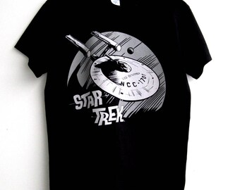 Star Trek USS Enterprise T-Shirt Tee