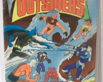 1984 Batman And The Outsiders #6 The Coming of The Cryonic Man Good- VG Vintage Barr/Aparo DC Comic Book