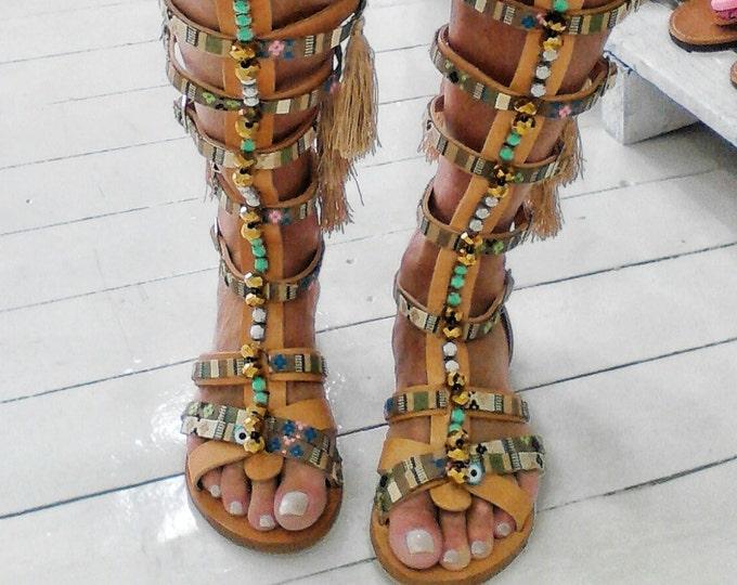 DHL FREE Greek sandals/boho sandals/gladiator sandals/boots/luxury sandals/strappy sandals/handmade sandals/ethnic sandals/women shoes/flats