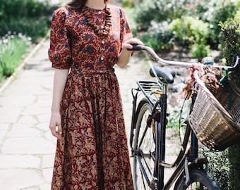Ophelia Dress in Autumn