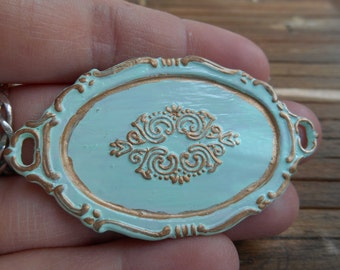 SALE!   Versaille style tray   Marie Antoinette tray   Dollhouse miniature   Miniature accesories   1/12 - 1 inch accesories