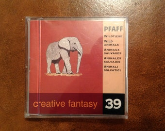 PFAFF Creative Fantasy Embroidery Card # 39