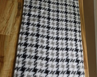 Cage Liner - Small Animal Mat - Guinea Pig pad - Hedgehog Mat - Chinchilla Pad- Hounds tooth Mat