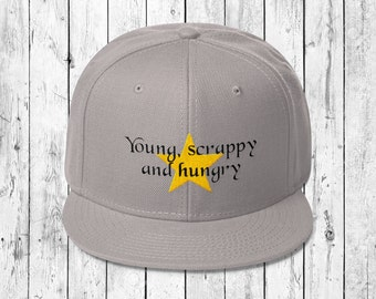 Young, scrappy and hungry - Hamilton inspired cap