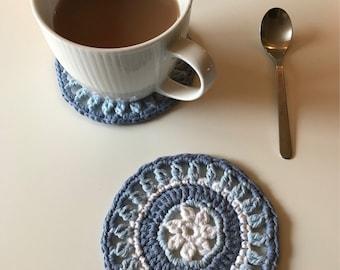 2 Crochet Coasters