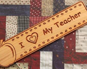 Gift For Teacher, Teacher Bookmark, Teachers Gift