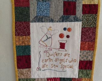 Quilters Angel Wall Hanging