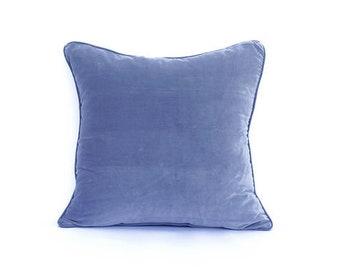 Gray cushion cover, velvet cushion cover, cotton cushion, Bohemian cushion, accent cushion, decorative pillow