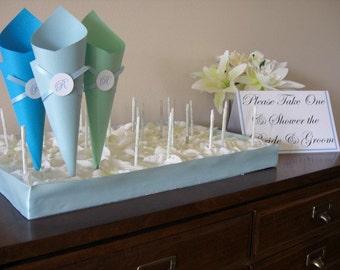 Paper cone Display