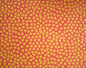 George Sowden original TRIANGOLO Fabric for Memphis ca. 1983