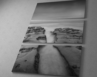 Destiny 12 by Moises Levy Gallery Wrapped Canvas Triptych Print