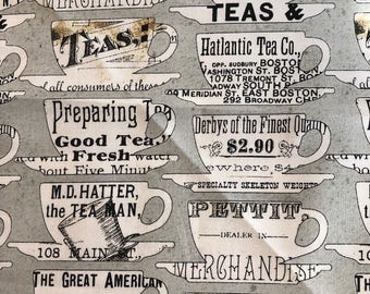 Hatters Tea Party by J. Wecker Frisch for Tidings of Great Joy by Quilting Treasures