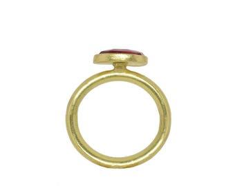 Roman Ring in 18K