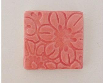 PINK FLOWER Tile