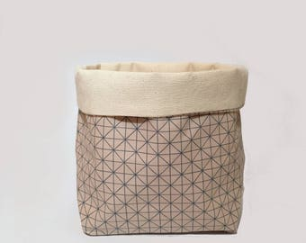 white/ utensilo, storage, storage bin, fabric basket, fabric box, storage basket, home organisation