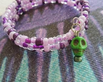 Creepy Girly Voodoo Coil Bracelet