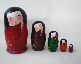 Japanese Matryoshka Doll