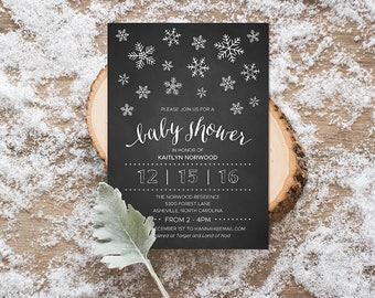 DIY Baby Shower Invitation
