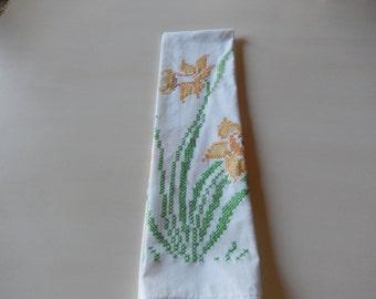 CROSS STITCH HAND Towel