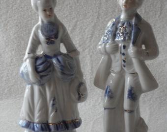 Vintage, German porcelain figures, vintage, German porcelain figurine