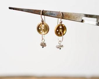 Quartz Camera part earrings